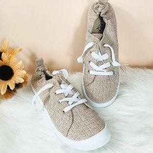 KHAKI SNEAKERS- shoe